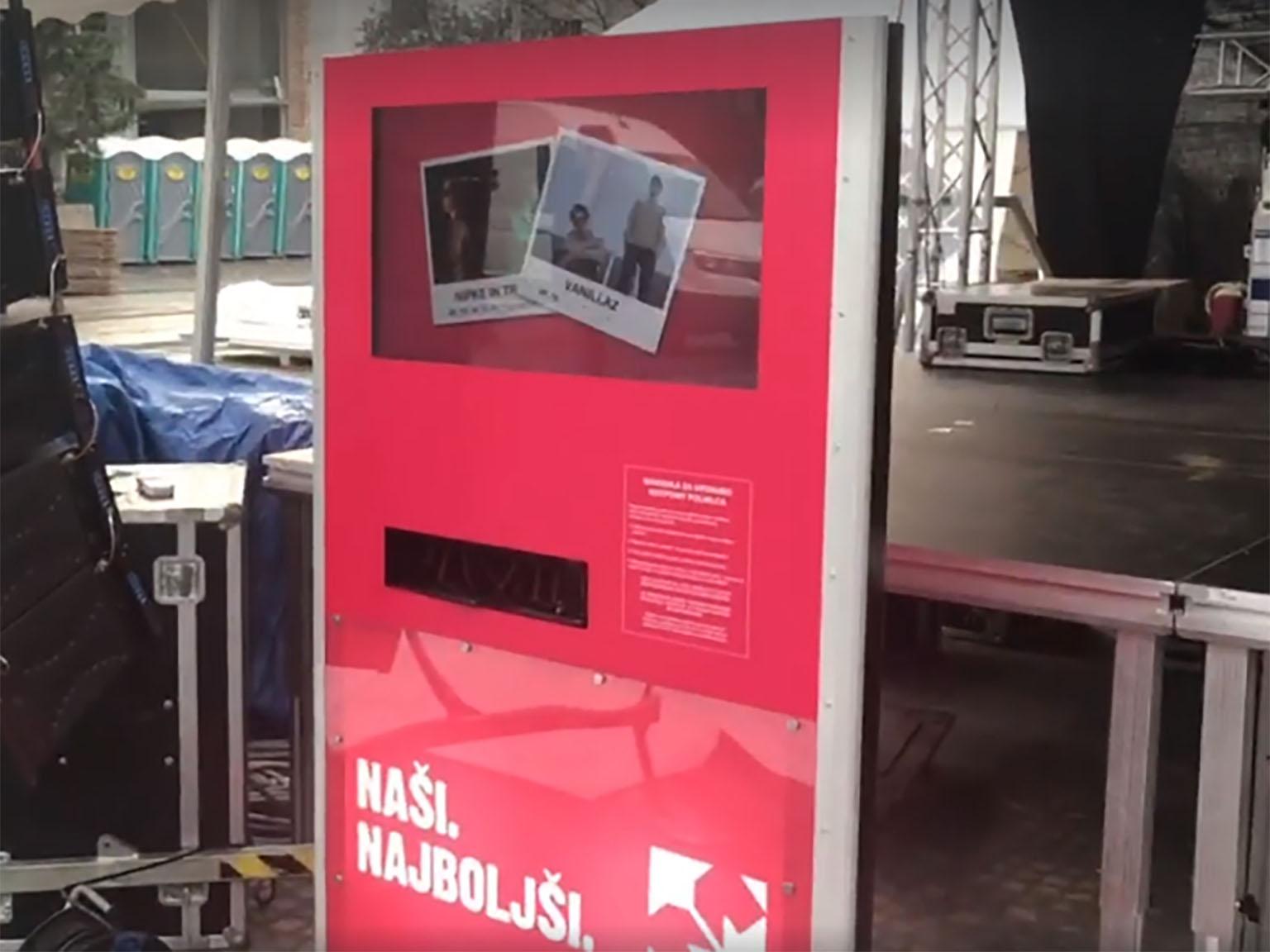 Polnilna postaja @ Ljubljanski maraton